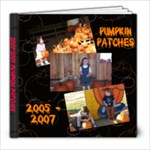 Pumpkin Patch Book - 8x8 Photo Book (20 pages)