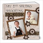 studio shooting - 8x8 Photo Book (39 pages)
