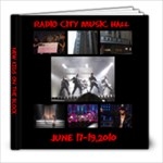 nyc concert - 8x8 Photo Book (39 pages)