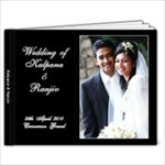 Wedding 2 - 9x7 Photo Book (20 pages)