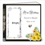 Ward-Reedy Wedding Album - 8x8 Photo Book (20 pages)
