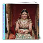 Bina s Wedding - 8x8 Photo Book (39 pages)