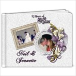 25th Wedding Anniversary - 9x7 Photo Book (20 pages)