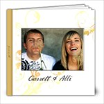 garrett and allie - 8x8 Photo Book (20 pages)
