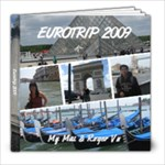 Eurotrip 39 - 8x8 Photo Book (39 pages)