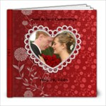 J&J Wedding Professionals - 8x8 Photo Book (39 pages)
