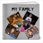 Family Book - 8x8 Photo Book (30 pages)