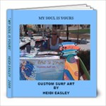 Heidis surfboard stand - 8x8 Photo Book (20 pages)