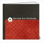 Marissa 1st Birthday - 8x8 Photo Book (20 pages)