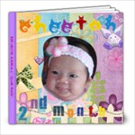 Baby Cheetah  2 months - 8x8 Photo Book (39 pages)