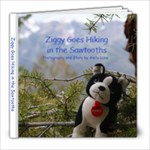 Ziggy hikes the Sawtooths - 8x8 Photo Book (20 pages)