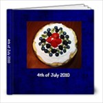4th of july - 8x8 Photo Book (20 pages)