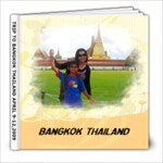 trip to bangkok thailand - 8x8 Photo Book (60 pages)