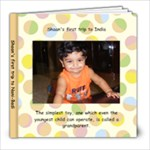Shaan India - 8x8 Photo Book (39 pages)