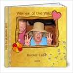 Women of the Wild - 8x8 Photo Book (20 pages)