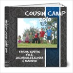 Cousin Camp - 8x8 Photo Book (20 pages)