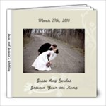 Jesse and Josenia s Wedding - 8x8 Photo Book (39 pages)