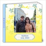 RUSSIA - 8x8 Photo Book (20 pages)