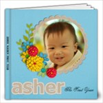 Asher s Babyhood Years - 12x12 Photo Book (20 pages)