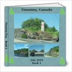 Timmins Book 1 - 8x8 Photo Book (20 pages)