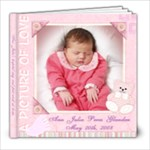 Baby s  first month n hospital stay book - 8x8 Photo Book (20 pages)