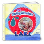 boating adventures 2010 - 8x8 Photo Book (30 pages)