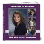 Courtney - 8x8 Photo Book (39 pages)