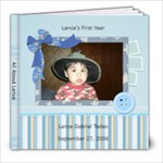 Lance s First Year - 8x8 Photo Book (20 pages)