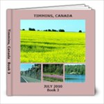 Timmins, Book 3 - 8x8 Photo Book (20 pages)
