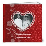 50 anniversary M&A - 8x8 Photo Book (20 pages)