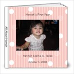 Hannah s First Year - 8x8 Photo Book (20 pages)