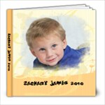 Zachary James 2010 - 8x8 Photo Book (20 pages)