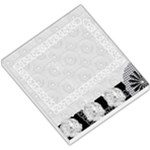 black and white small memo pad - Small Memo Pads