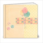 6x6 Birthday Album - template - 6x6 Photo Book (20 pages)