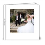 Our Wedding Coffee Table Frameless Album - 6x6 Photo Book (20 pages)