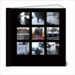 Classic black frameless Artbook  - 6x6 Photo Book (20 pages)