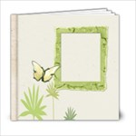 Bamboo  stems 6 x 6 album - 6x6 Photo Book (20 pages)