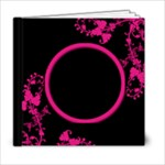 Funky Fuschia 6 x 6 album - 6x6 Photo Book (20 pages)