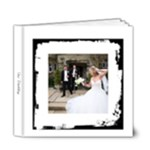 Wedding Black & White 6 x 6 Frameless Album - 6x6 Deluxe Photo Book (20 pages)