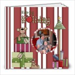 Christmas Memories 8 x 8 template - 8x8 Photo Book (20 pages)