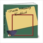 family cookbook - 6x6 Photo Book (20 pages)