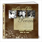 meghan and drew - 8x8 Photo Book (20 pages)
