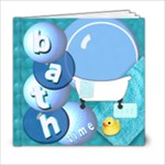 bubble bath template book - 6x6 Photo Book (20 pages)
