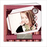 burgandy blessings template book 6x6 - 6x6 Photo Book (20 pages)