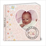 It s A Girl 6x6 Photo Book - 6x6 Photo Book (20 pages)