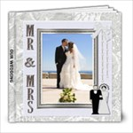 Our Wedding 8x8 Photo Book - 8x8 Photo Book (20 pages)