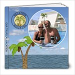8x8 Tropical Vacation Book - 8x8 Photo Book (20 pages)