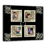 Baby Multiframe canvas 20 x 24 - Canvas 24  x 20  (Stretched)