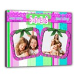sisters canvas template - Canvas 20  x 16  (Stretched)