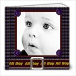 all boy template book - 8x8 Photo Book (20 pages)